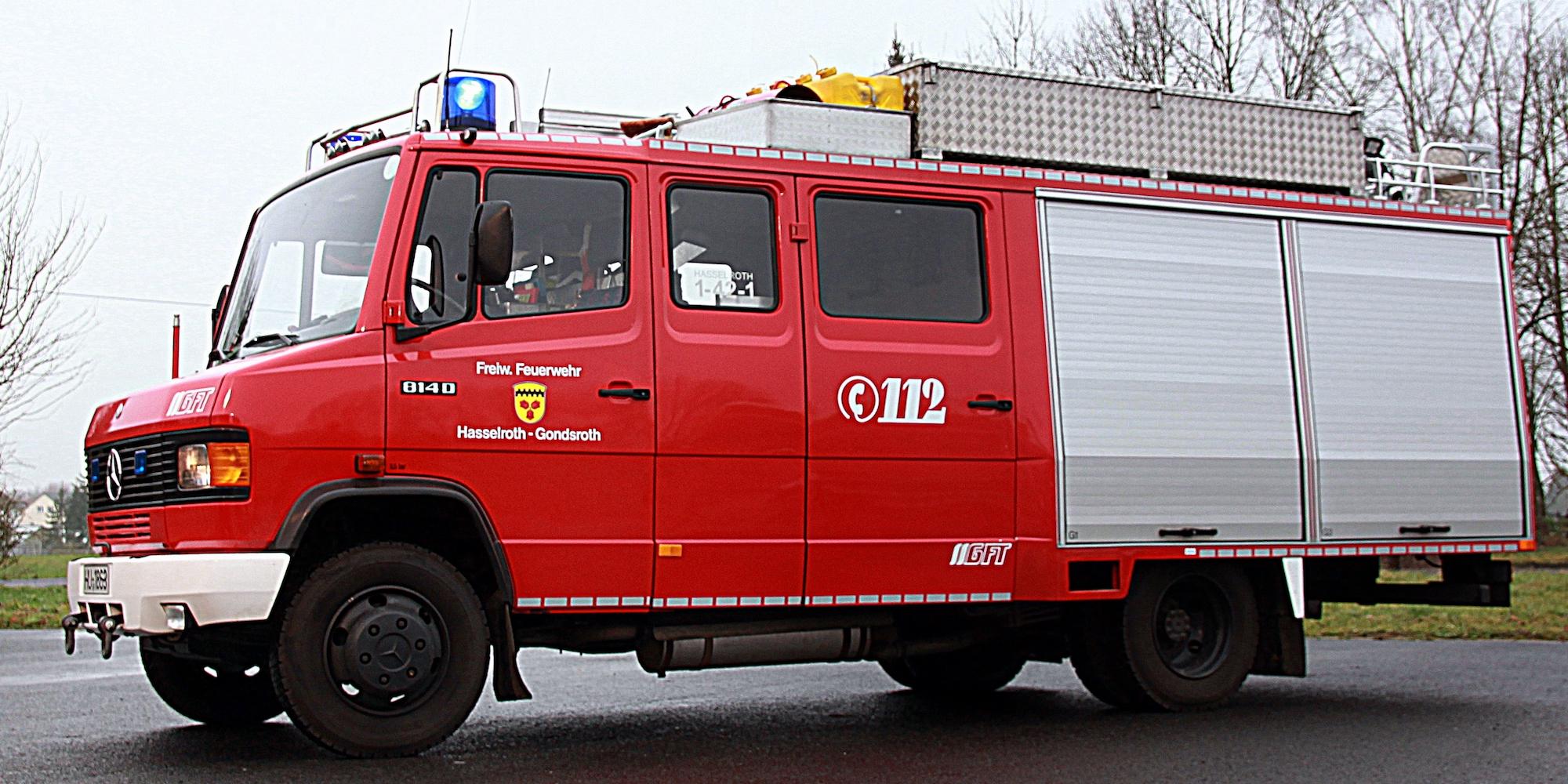 LF 8/6 GG Löschgruppenfahrzeug 600 L, Gefahrgut