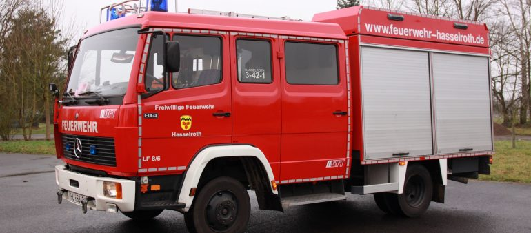 LF 8/6 TH Löschgruppenfahrzeug 600 L