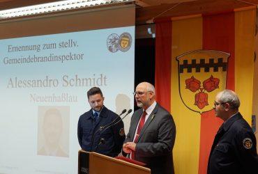 Neuer stellvertretender Gemeindebrandinspektor für die Hasselrother Feuerwehr