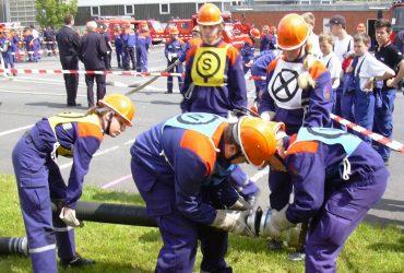 Wettkampf der Jugendfeuerwehren in Gondsroth