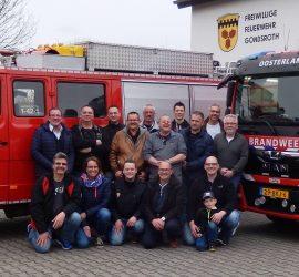 Niederländische Feuerwehr zu Besuch in Gondsroth