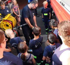 Ereignisreicher Tag für die Feuerwehr im Ortsteil Niedermittlau