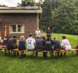 Ein Wochenende voller Team Buildung, sportlichen Herausforderungen und alternativen Antriebstechniken