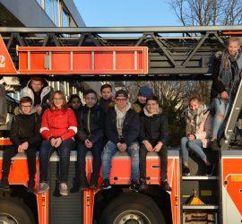 Ausflug zur Frankfurter Feuerwehr