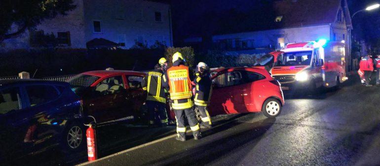 Betriebsmittelauslauf nach Verkehrsunfall