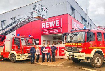 Neues Projekt – Kooperation mit FF Freigericht & REWE Herröder!