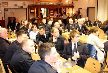 Gemeinsame Jahreshauptversammlung – Gemeindebrandinspektor Hofmann geehrt