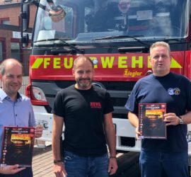 Feuerwehr Hasselroth & Freigericht bekommt eigenes Stickeralbum